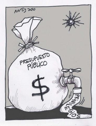 ejemplo de presupuesto publico: